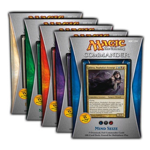 Magic the Gathering Commander 2013 Set of 5 Decks by Magic: the Gathering