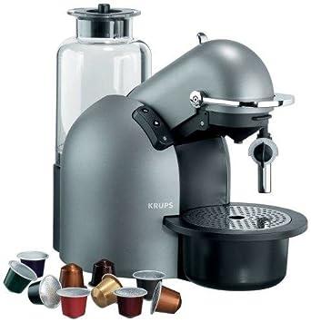Krups FNA 241 Nespresso Futuro Autocappuccino - Máquina de café: Amazon.es: Hogar