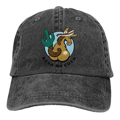 - Arsmt BESA Mi Culo Denim Hat Adjustable Men Casual Baseball Hat