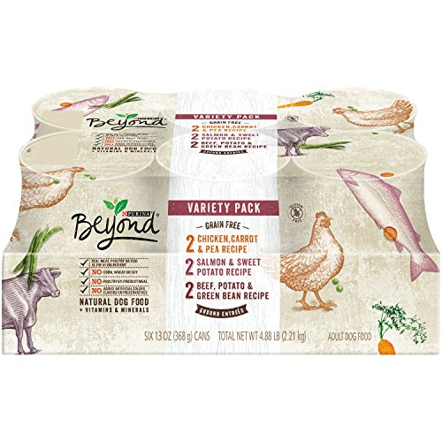 Purina Beyond Natural Grain Free Ground Wet Dog Food Variety