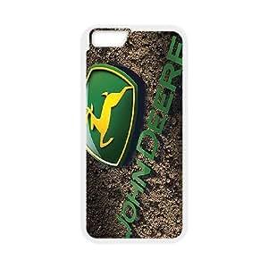 iPhone 6 Plus 5.5 Inch Phone Case White John Deere DY7732991