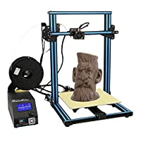 Creality CR-10S 3D Printer with Filament Sensor, Dual Z-Axis, Upgraded V2.1 Version Mainboard,Resume Off, Heater Bed,1.75mm PLA Filament and Larger Printing Size 300X300X400mm