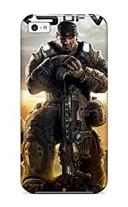 For Iphone 5/5S Case Cover , Protective Case With Look - 2011 Gears Of War 3
