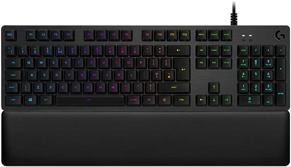 Logitech G513 Carbon RGB Mechanical Gaming Keyboard - Carbon - ESP - USB - N/A - MEDITER - G513 Tactile Switch