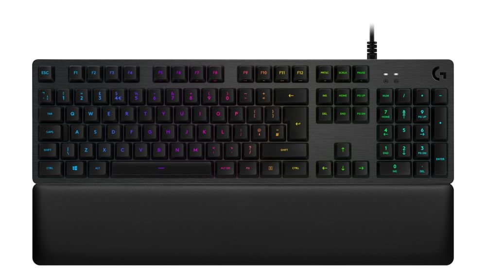 Logitech G513 - Teclado mecánico para Gaming con retroiluminación RGB e interruptores mecánicos Clicky, Carbon - QWERTY Español: Amazon.es: Informática