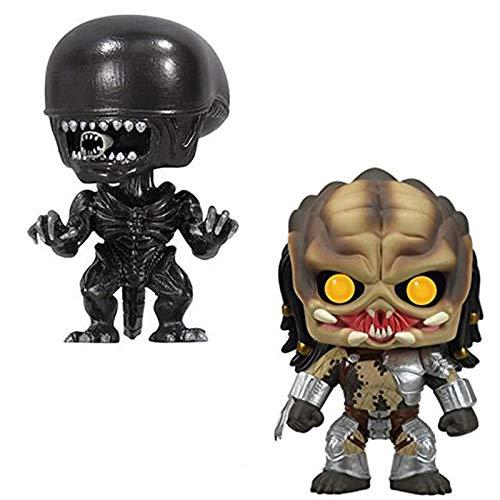Amazon.com: Bobble Head for Cars Alien Vs Predator PVC ...