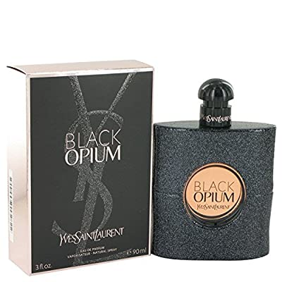 Black Opium Perfume By YVES SAINT LAURENT 3 oz Eau De Parfum Spray FOR WOMEN