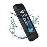 New Waterproof Shockproof Dirtproof Snowproof Protection Case Cover Only for Apple Iphone 5C Black by HESGI