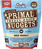 Primal Freeze Dried Cat Food - Duck Formula - 5.5 Oz. Larger Image