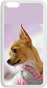 Compatible Apple iPod Touch 6 Have with Chihuahua 1 Men Rigid Plastic Case Differently Choose Design 157-5