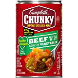 When you need food that works as hard as you do, grab Campbell's Chunky soups. Our big flavor, big pieces and bold ingredients will help you fight back when NFL-sized hunger hits. Available in hearty varieties and tastes that don't stop, Campbell's C...