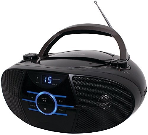 Portable Stereo CD Player with AM/FM Stereo Radio & Bluetooth Computers, Electronics, Office Supplies, Computing