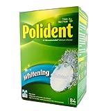 Polident Whitening Denture Cleanser Triple Mint Fresh - 84 Tablets (2 pack)