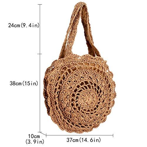 marrón Marrón para hombro 01C mujer Bolso al Claro 02967 oscuro Millya bb nvU8HH