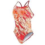 Nike Women's Swimsuit Acid Wash Cut Out Tank (24-8)
