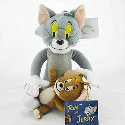 Mushroom 8 Inch Plush (Tom and Jerry 5.5-11 Inch Anime Stuffed Plush Kids Toys)