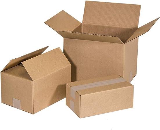 Kartox | Cajas de Cartón | Canal Simple Reforzado | Caja almacenaje | 30x25x25 | 25 Unidades: Amazon.es: Oficina y papelería
