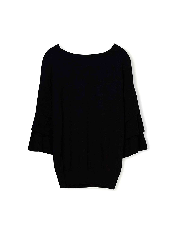 Liu-jo M67145MA950 T-shirt Frauen Schwarz S