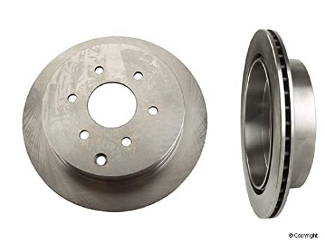 NEW Set of 2 Rear Disc Brake Rotor 09B55310 for Nissan Frontier Xterra Suzuki