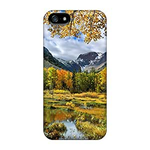 Scratch-proof Protection Cases Covers For iphone 4s/ Hot Autumn Landscape Phone Cases