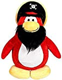 Disney Club Penguin 6.5 Inch Series 3 Plush Figure Capt. Rockhopper (Includes Coin with Code!)
