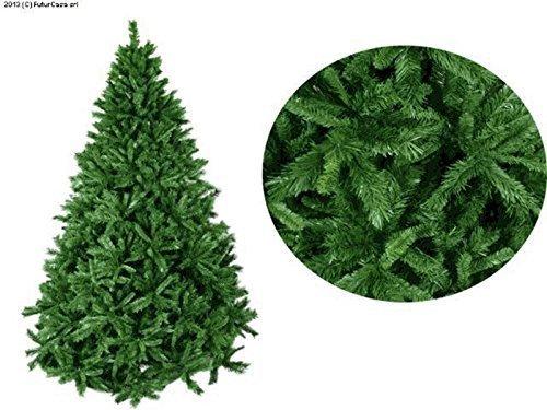 Albero Di Natale H 240.Alberi Di Natale H 240 Cm Verde Molto Folto Artificiale Amazon It