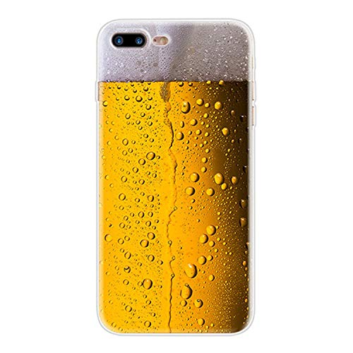 Funny Soft TPU Case for iPhone 7 8 Plus X 6 6S 5 5S SE Beer Gameboy Phone Battery Clear Silicone Cover for iPhone Xs Max XR (Beer) -  NNPACC