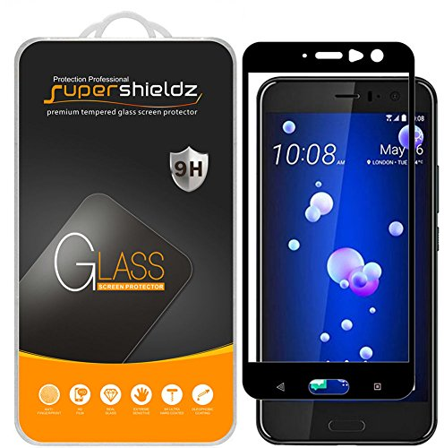 514dpimAynL BONUM HTC U11 Screen Protector, Hd Clear Anti Scratch and Fingerprint Bubble-free Tempered Glass - 2 Piece.