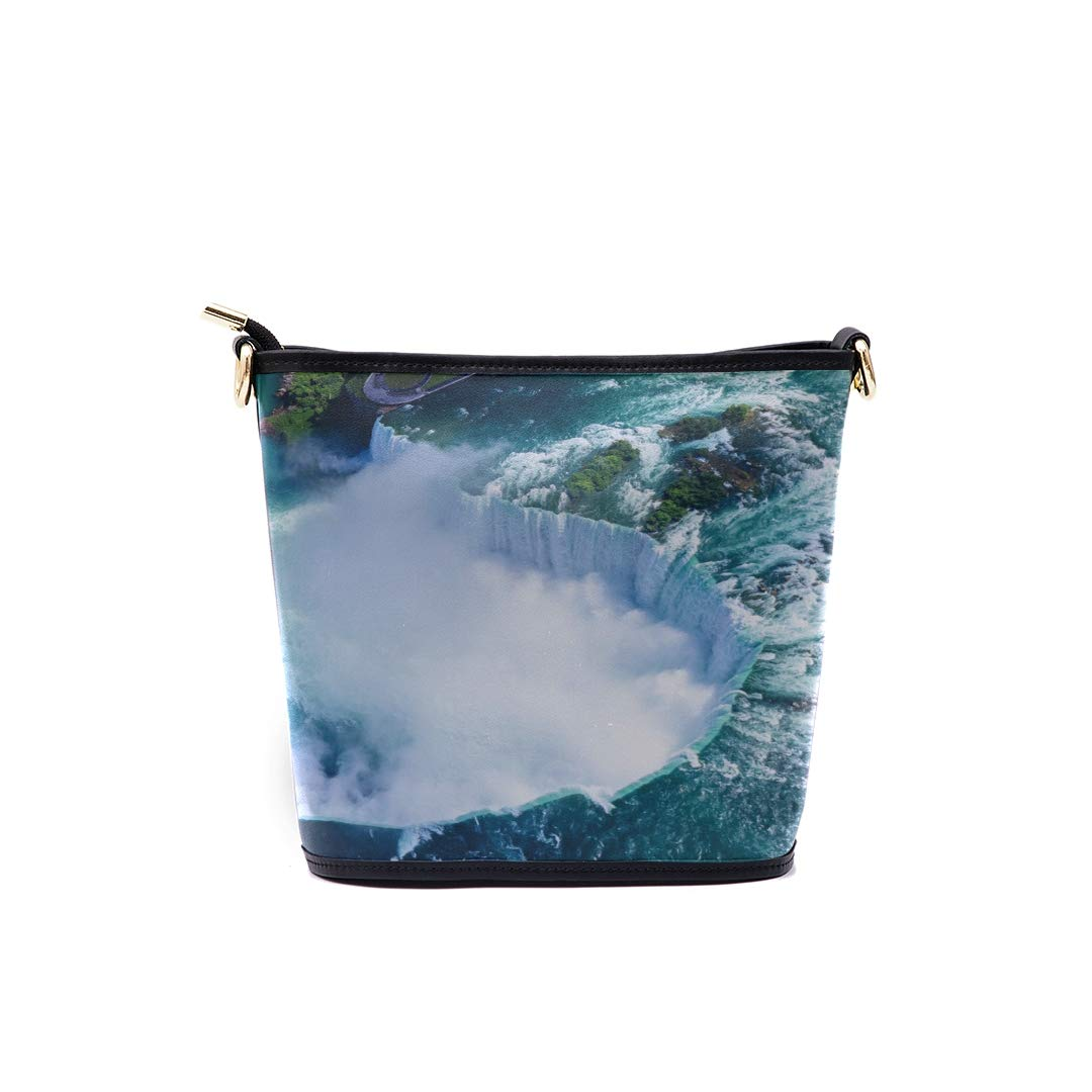 Crossbody Messenger Bags For Girls Niagara Falls From The View Of The Maid Of The Mist Multi-functional Wristlet Zipper Pocket Small Wristlet Zip Up Shoulder Bag Womens Bag Shoulder Mens Messenger Sh