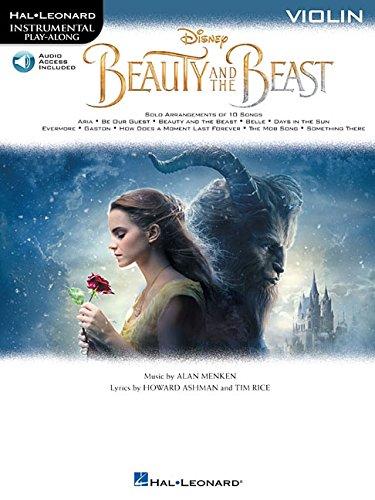 Beauty And The Beast: Violin Bk/Online Audio (Hal Leonard Instrumental Play-Along)