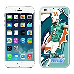 NFL Miami Dolphins Brandon Fields iPhone 6 Cases White 4.7 Inches NFLIphone6Cases12634