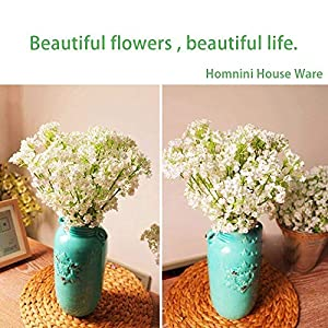 80 Mini Heads 1PC DIY Artificial Baby's Breath Flower Gypsophila Fake Silicone Plant for Wedding Home Party Decorations 8 Colors 33