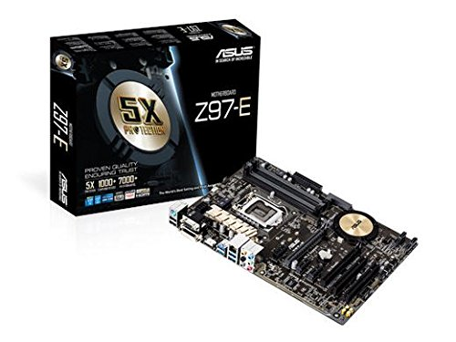 ASUS ATX DDR3 3000 LGA 1150 Motherboards Z97-E