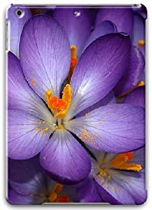 Apple iPad Air Case, Apple iPad Air 3D Cases Hard Shell White Cover Skin Cases Nature Flowers