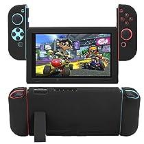 Nintendo Switch専用 全面保護ケース カバー 衝撃吸収 擦り傷防止 ソフトケース