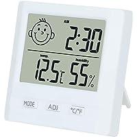 TPFOON Thermomètre Hygromètre Intérieur Extérieurs Numérique Moniteur D'humidité Intérieure Bureau À L'Intérieur Chambre De Bébé Hygromètre Électronique