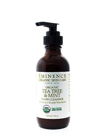 eminence organics tea tree and mint hand cleanser, 2 ounce Facial Steamer EX Dermatologist,Spa Medical or Beauty Salon