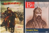 Mongol the Rise of Genghis Khan the Movie , Biography Genghis Khan - 2 Pack Gift Set
