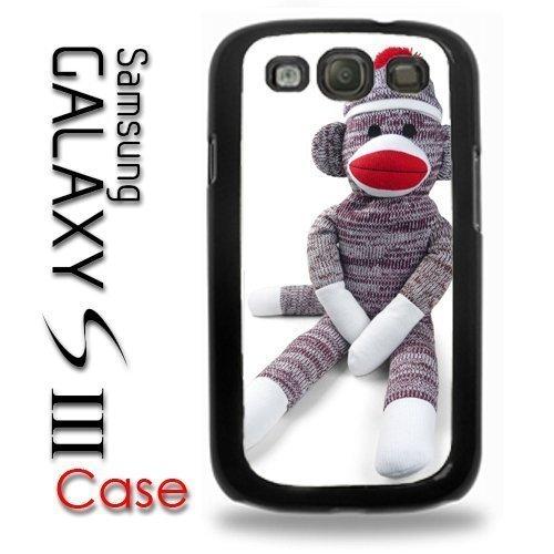Samsung Galaxy S3 Plastic Case - Sock Monkey Doll Stuffed Doll Print