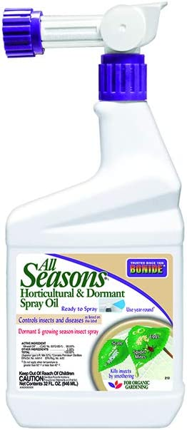 Bonide All Seasons Horticultural and Dormant Spray Oil Insecticide