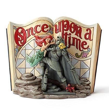 - Little Mermaid Disney Tradition [ parallel import goods] Enesco woodcarving tone Storybook figure Jim Shore