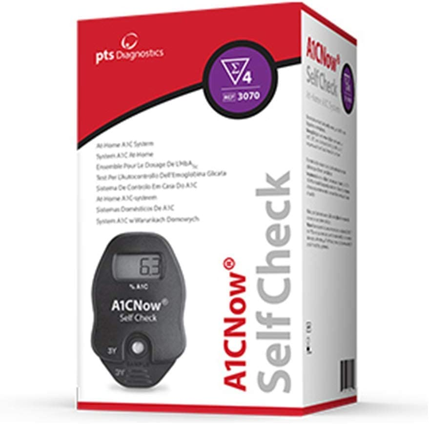 A1CNow SelfCheck - Includes Analyzer and 4 Test Strips