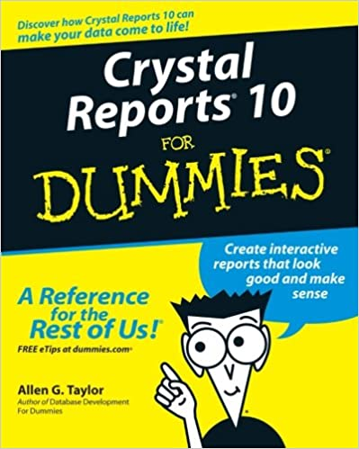 CRYSTAL REPORTS 10 FOR DUMMIES PDF DOWNLOAD