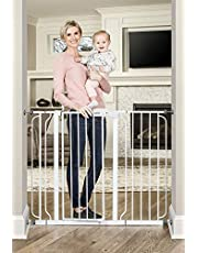 Regalo Baby 1154 Extra Tall Widespan Gate (White)
