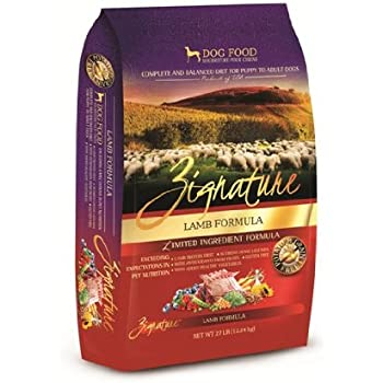 Zignature Lamb Dry Dog Food, 27-Pound
