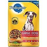 PEDIGREE Adult Large Dog Roasted Chicken, Rice & Vegetable Dry Dog Food 17 Pounds