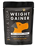 Buddy & Lola Weight Gainer for Dogs (90 Servings - 1.4lbs) Healthy Weight