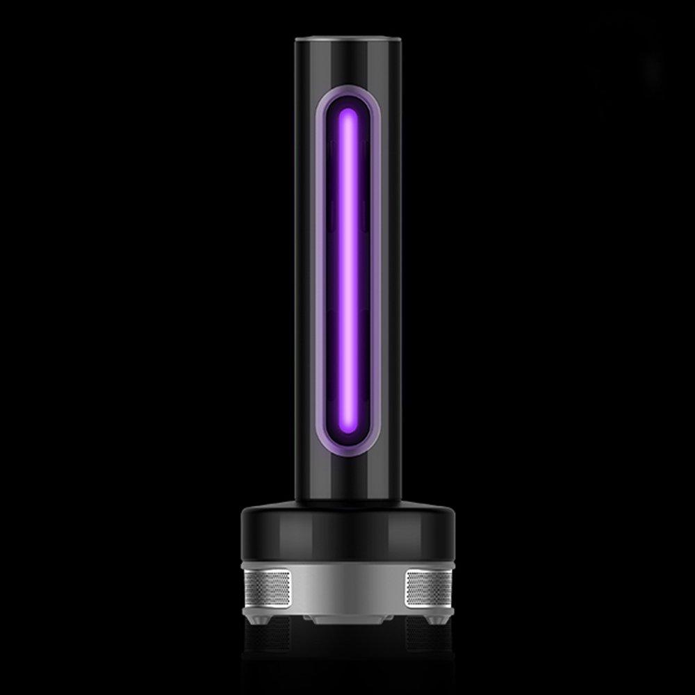QLX LED Imitazione Eco-Tecnologia A 360 Gradi Elettronico Insetticida Casa Zanzara Donne Incinte Bambino Elettronico Insetto Repellente Fotocatalizzatore Zanzara Trap,nero