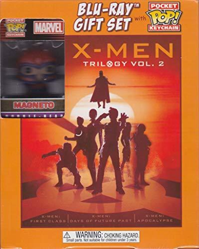 X-Men Trilogy Vol. 2 Blu-ray Gift Set with Pocket Pop! Keychain