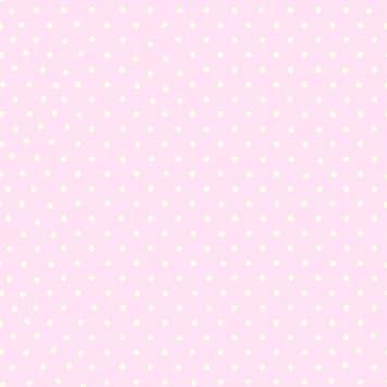 Papier peint Motif à pois – rose et blanc – 6321